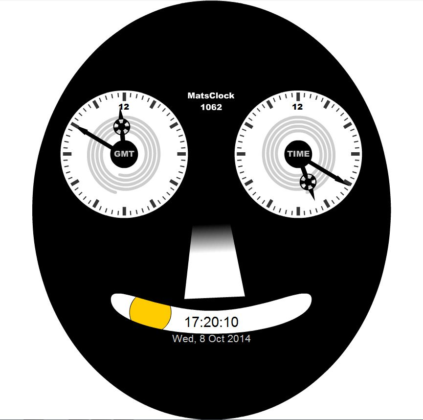 MatsClock Cartoon Clock Movement