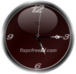 Free Flash Clock MatsClock 1002
