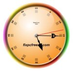 Free Flash Clock MatsClock 1003