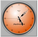 Download MatsClock 1019 Free Flash Clock