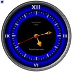 Free Flash Clock MatsClock 1040