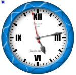 Free Flash Clock MatsClock 1041