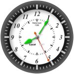 Free Flash Clock Mats Clock 1360 picture